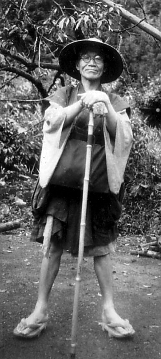 Sawaki standing